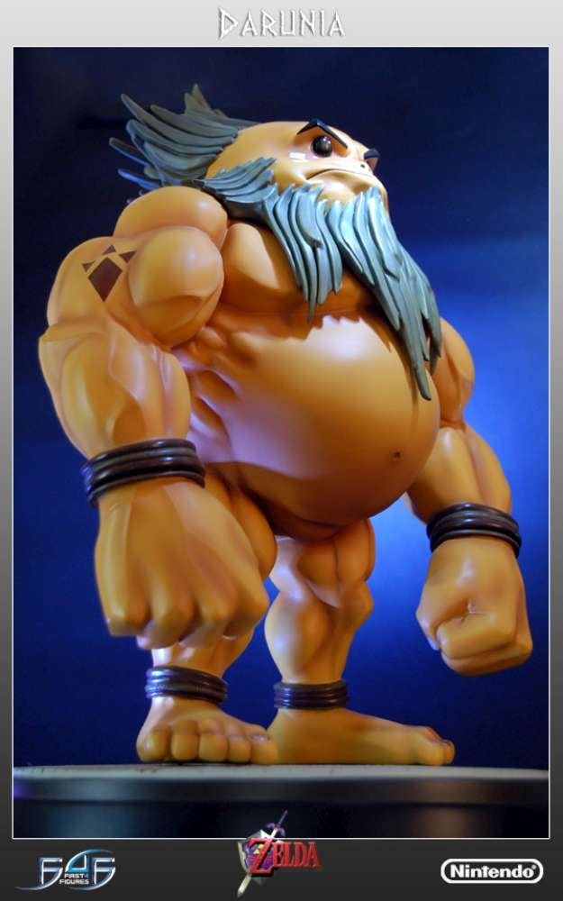 Ocarina of Time's Goron Leader Gets a Cheeky Statue