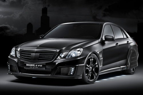 800 HP Brabus E V12: Lord Vader, Your Clichéd Headline Is Ready