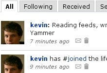 Yammer Creates a Private Twitter for Co-Workers
