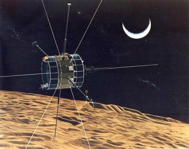 Today, A Spacecraft From 1978 Took Our Lunch Money
