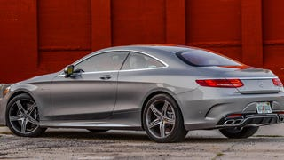 The US-Spec 2015 Mercedes S63 AMG Coupe Has Just 577 HP