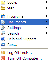 "Remove ""My Recent Documents"" From XP Start Menu"