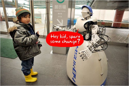 Robotic Factory Workers Getting Laid Off Just Like the Rest of Us