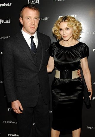 Guy And Madonna Call A Christmas Truce
