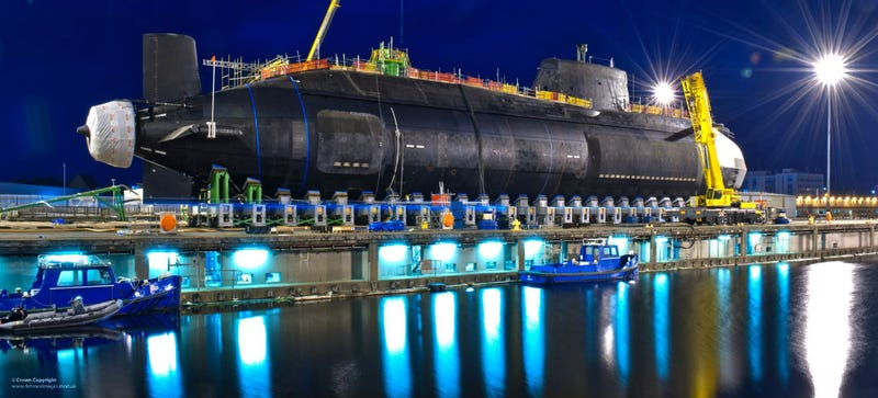 Nowhere Under the Sea Is Safe from Britain's Newest Nuclear Submarine