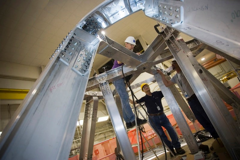 Orion Crew Test Module Timelapse Build