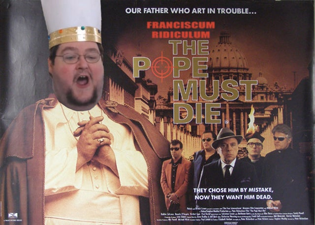 Kotaku 'Shop Contest: Habemas Pope Francish