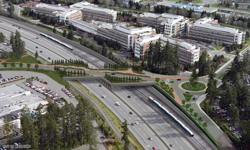 Microsoft Uses $11 Million in Stimulus Money to Build Bridge to Itself