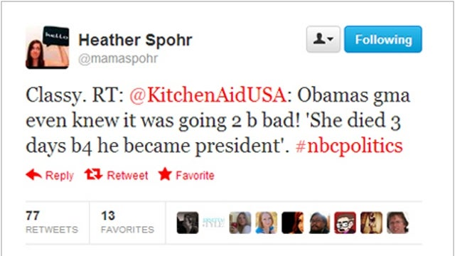 The Biggest Loser of Last Night's Debate Was the Home Appliance Brand that Tweeted a Joke About Obama's Dead Grandma