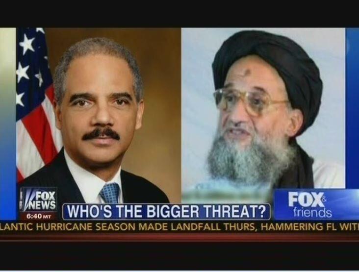 Fox News Is Just Askin': Is Eric Holder a Bigger Threat Than Al Qaeda?