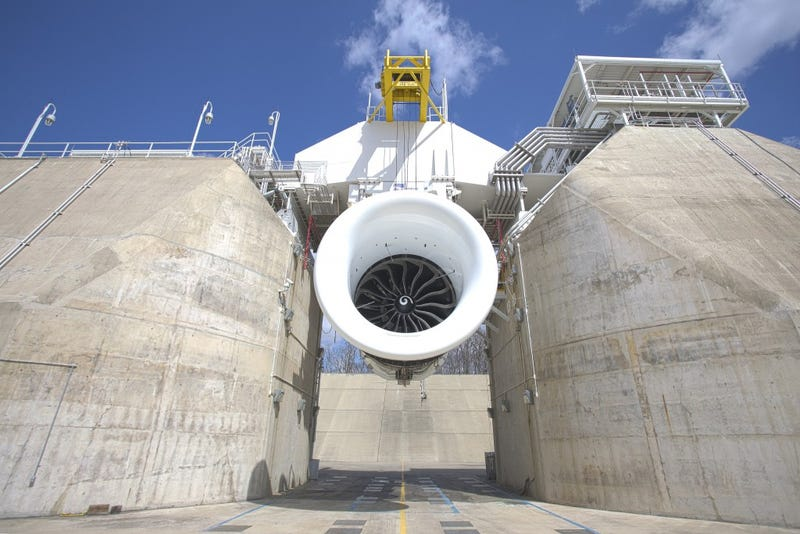 Here's the World's Hugest Jet Engine