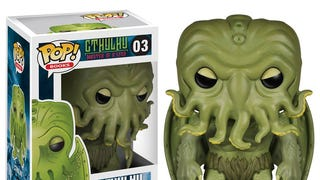 In the House of Funko, Vinyl Cthulhu waits dreaming