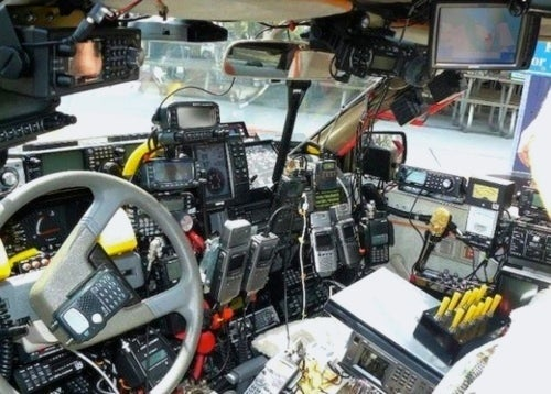 Emergency Vehicle Gadget Overload Will Kill/Save Us All
