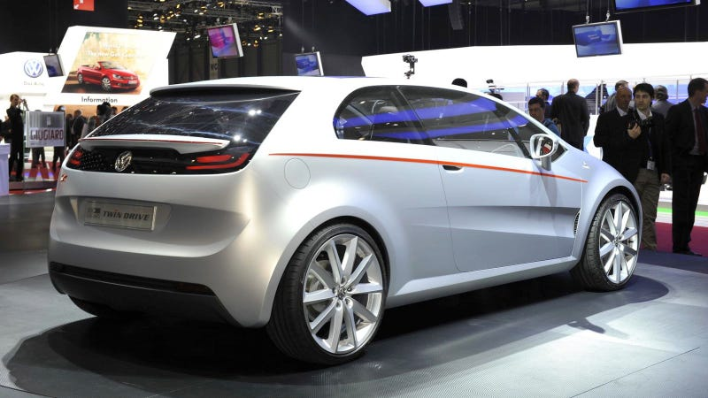 Ciao, Tex! VW/Giugiaro concept is all hat, no cattle