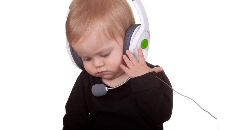 Fake Gamer of the Week: Ragequitting Baby