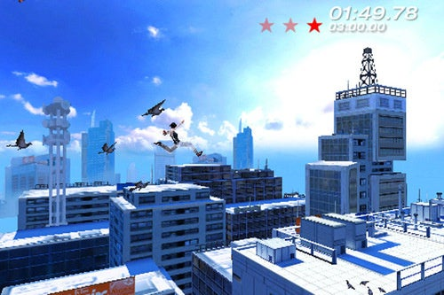 Mirror's Edge On iPhone Doing The Canabalt