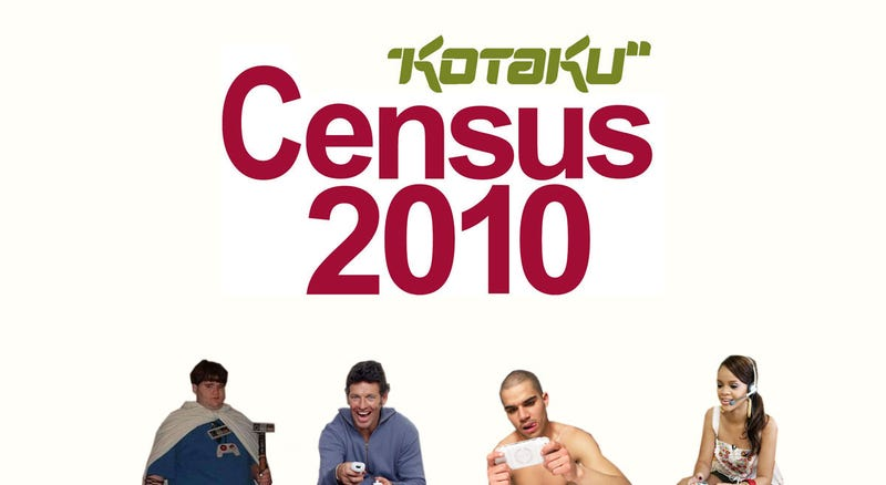 Kotaku Census 2010: You, Gamer