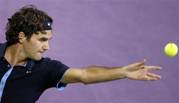 Roger Federer Reaches Out