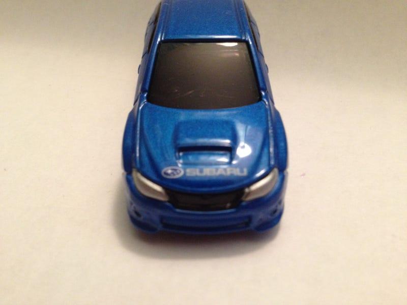 Tomica Subaru Impreza WRX STI Review