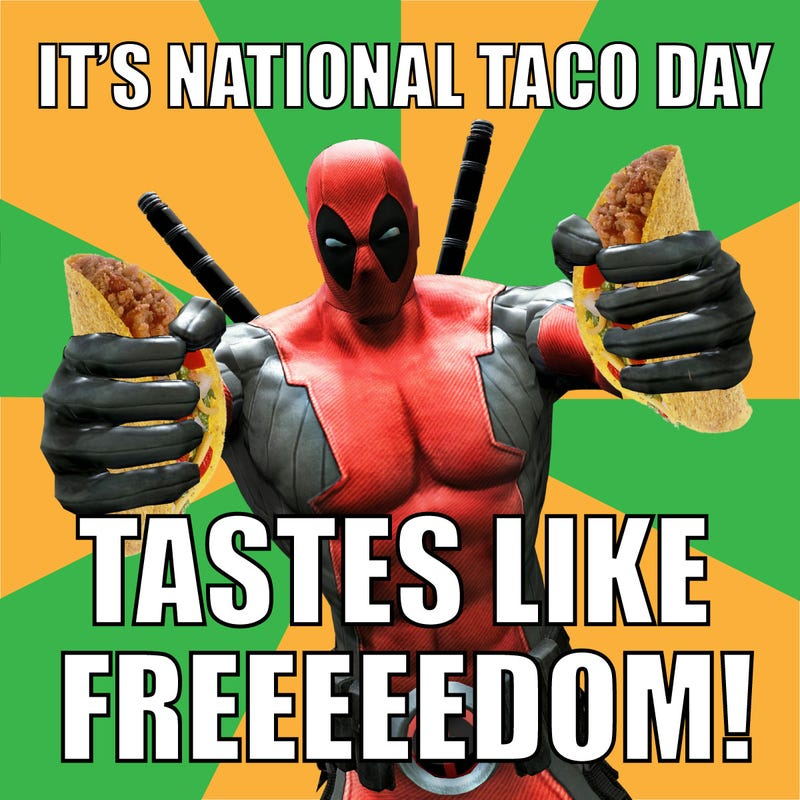 Snacktaku PSA: It's National Taco Day. Why Are You Sitting There Not Eating?