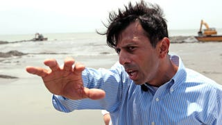 Bobby Jindal Wants to Be President of Bigot Pizza Nation
