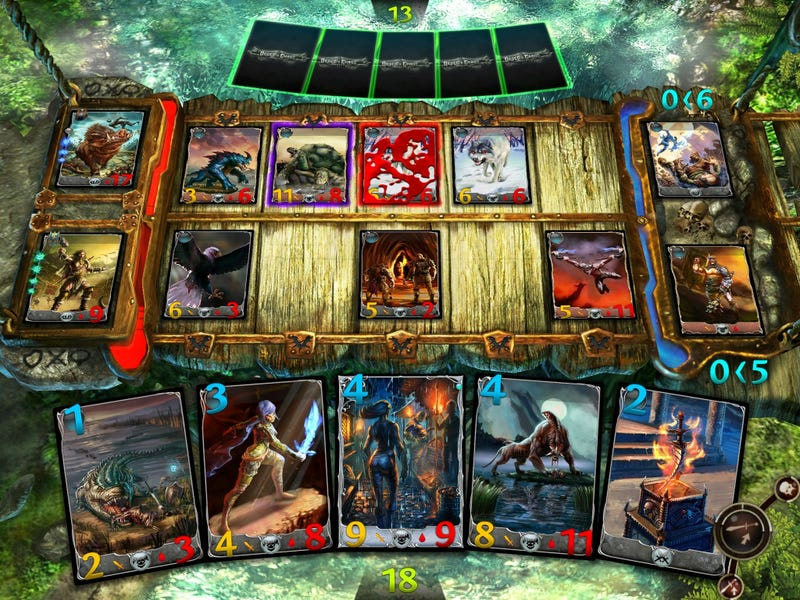 Gameloft's World of Warcraft Clone Already Has a Collectible Card Game Spin-Off