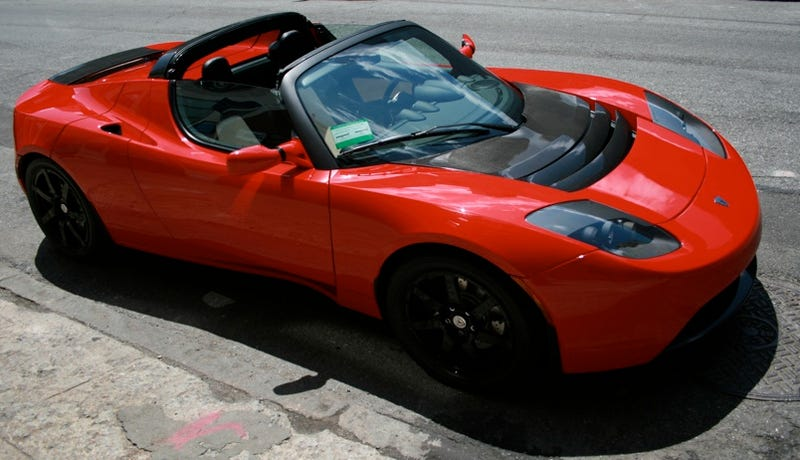 Rent A Tesla Roadster For $25 Per Hour