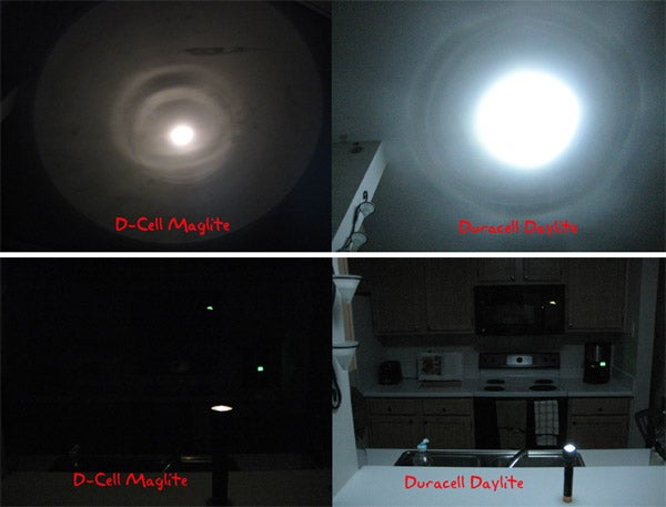 Lightning Review: Duracell's LED Daylite Flashlight