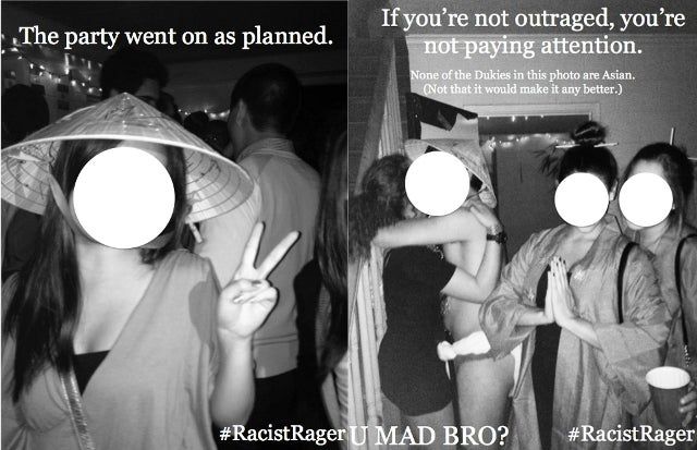 Outrage at Duke Over Fraternity's Asian-Themed 'Racist Rager'