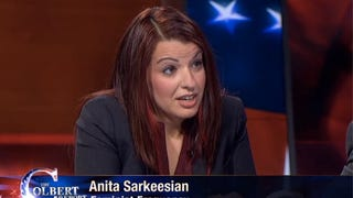 Anita Sarkeesian Talks Gamergate on <em>Colbert</em>