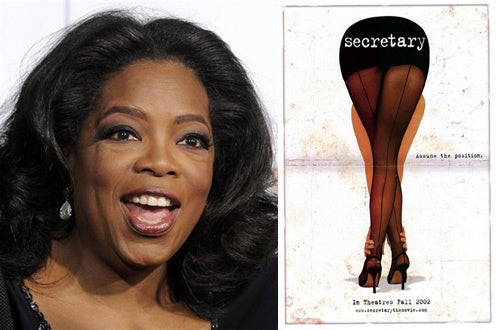"Oprah's ""Steamy"" New Project"
