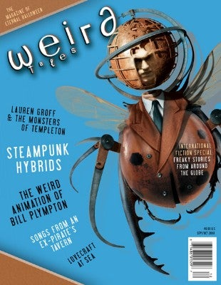 Weird Tales Reinvents Modern Spooky in Website Relaunch