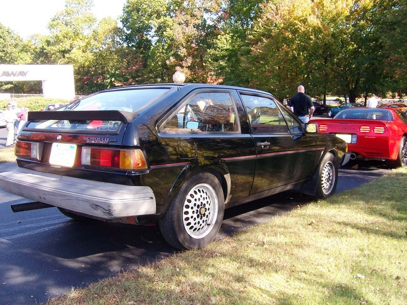 Never Mind The Callaway Porsche 944: 1982 Callaway Scirocco!