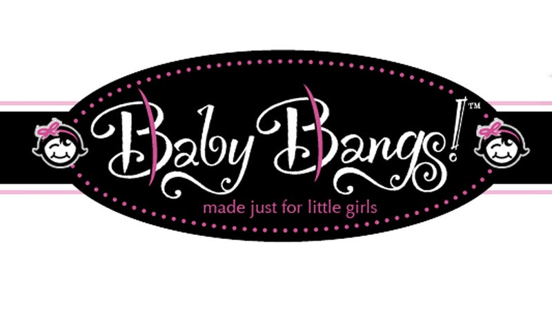 Finally a Fix For Your Hideously Bald Baby: Baby Bangs
