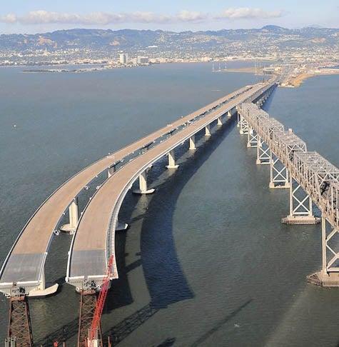 Bay Area Architects Seek to Re-purpose Bay Bridge as Park, Apartments