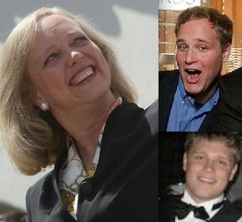 It Gets Worse: Meg Whitman's Sons' Racism and Entitlement Were Stuff of Legend