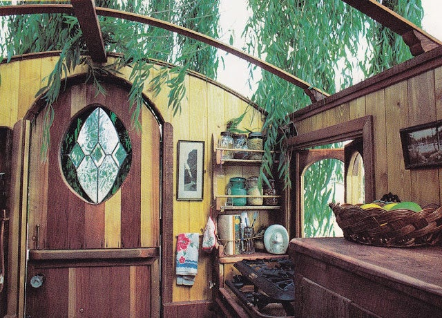 Crazy Wooden Homes on Wheels Are Ripped Out of Victorian Dreams