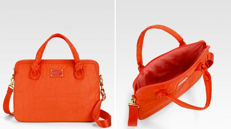 This Marc Jacobs Laptop Case Will Keep You From Looking Like Such a Slob, You Slob
