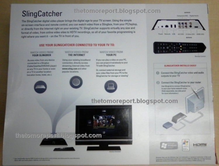 Leaked SlingCatcher Packaging Shots Reveal Specs?