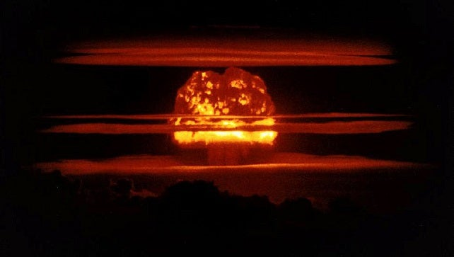 Why Do Clouds Suddenly Form Around Nuclear Explosions?