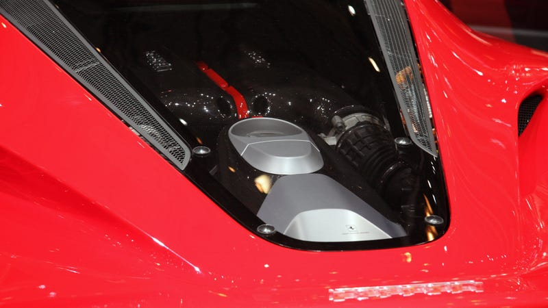 This Is The LaFerrari's 963 HP Hybrid V12