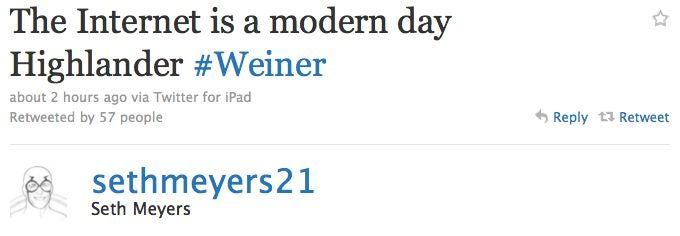Celebs Are Atwitter Over Anthony Weiner's Weiner