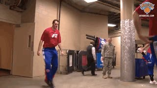 Jason Smith's Dancing Is The Only Redeeming Thing About The Knicks