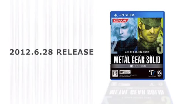 Metal Gear Solid: HD Edition Dated for PS Vita