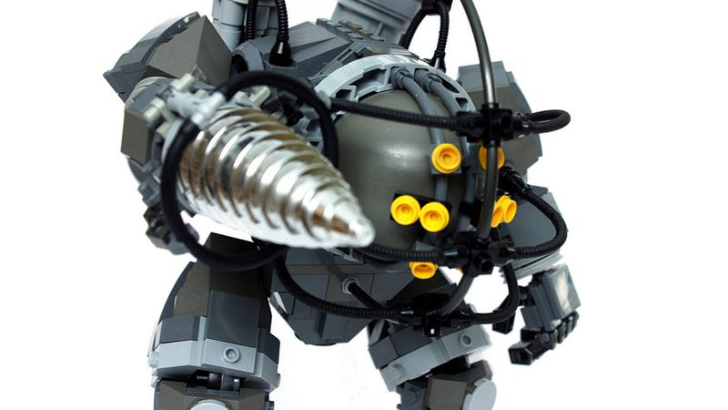 Sadly, This BioShock And Metroid LEGO Is Unofficial