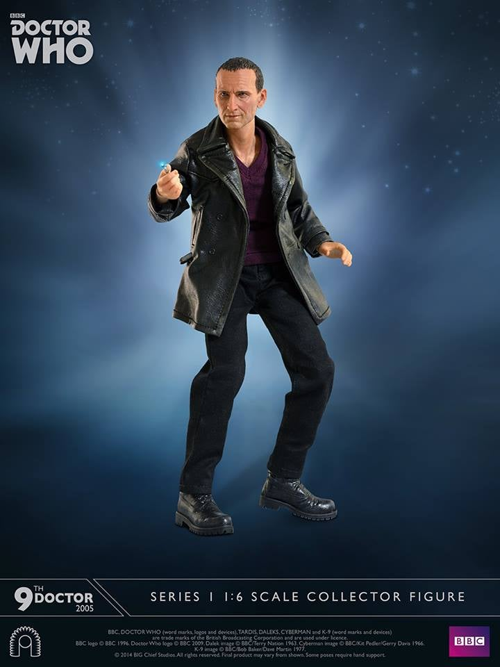 This Christopher EcclestonDoctor Who Figure Really Is Fantastic
