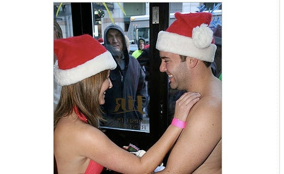 "Boston's ""Santa Speedo Run"" Brings Out All Sorts Of People"