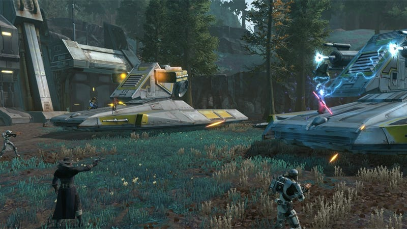 The 1.2 Update Warzone for Star Wars: The Old Republic Is Pretty Good
