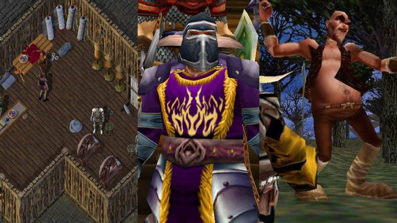 Ultima Online, EverQuest and World of Warcraft Earn Their Place in the MMO Hall of Fame
