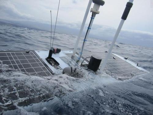 This Sea-Worthy Robot Sailor Surfed Straight Through Sandy